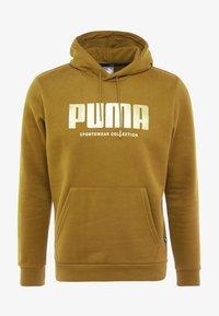 Puma - HOLIDAY PACK HOODIE - Hoodie - moss green - 4