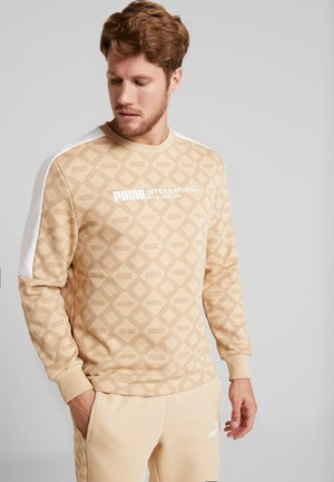 LOGO PACK CREW - Sweatshirt - pebble