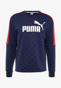 Puma - LOGO PACK CREW - Sweatshirt - peacoat - 3
