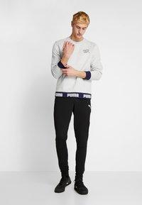 Puma - SCHWEIZ SFV CULTURE SWEAT - Sweatshirt - light gray heather - 1