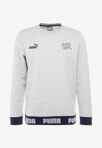 Puma - SCHWEIZ SFV CULTURE SWEAT - Sweatshirt - light gray heather - 4