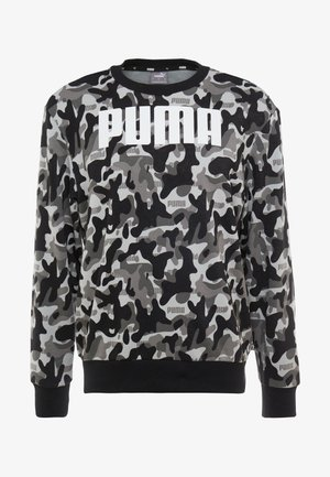REBEL CAMO CREW - Sweatshirts - puma black