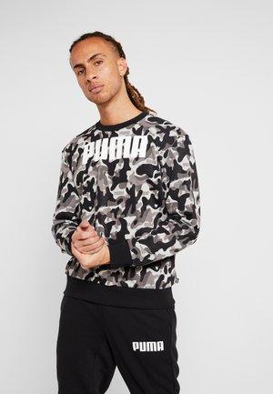 REBEL CAMO CREW - Sweatshirt - puma black