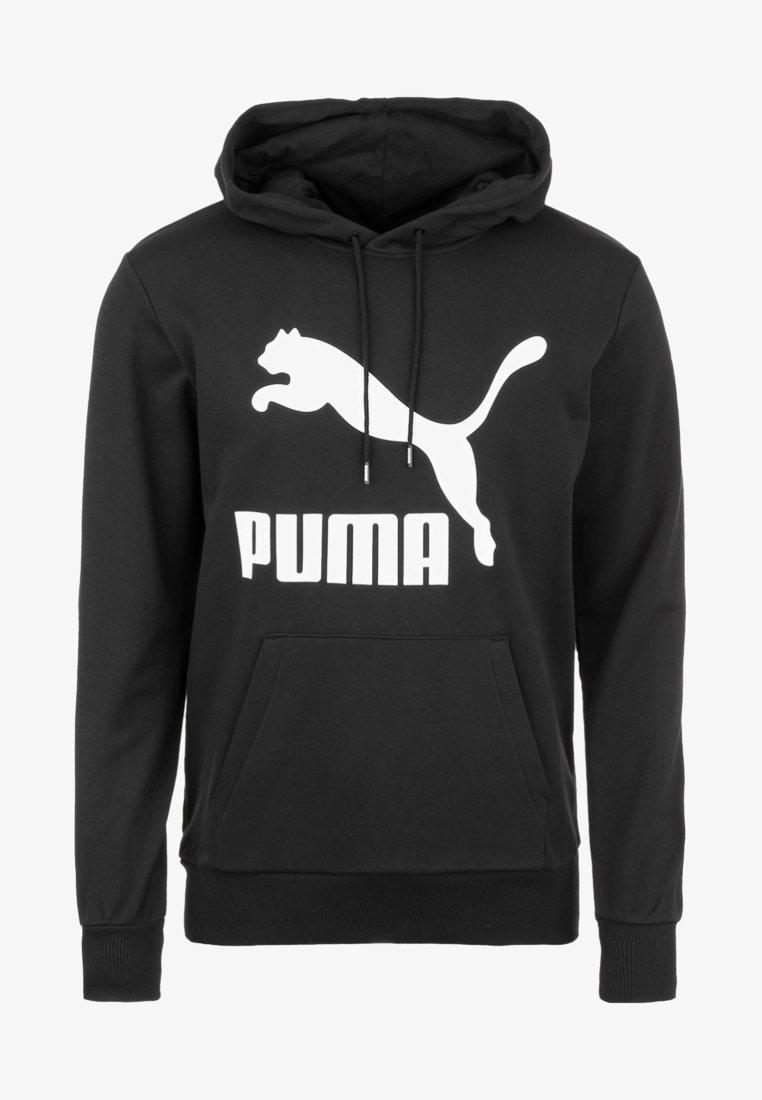 Puma - CLASSICS - Hoodie - black