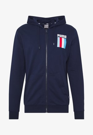CELEBRATION HOODIE - veste en sweat zippée - peacoat