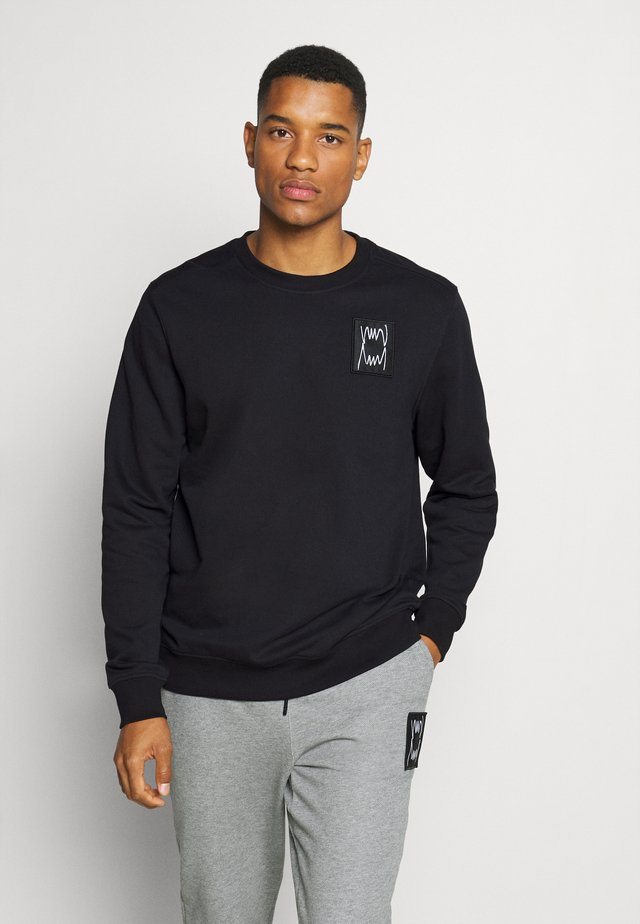 PIVOT CREW - Sweatshirt - black