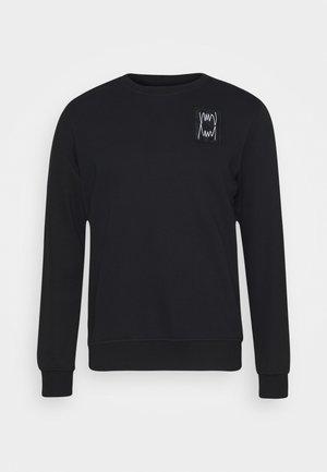 PIVOT CREW - Sweater - black