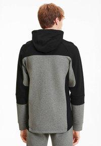 """Puma - PUMA HERREN SWEATSHIRTJACKE """"EVOSTRIPE"""" - Zip-up hoodie - grau (231) - 2"""