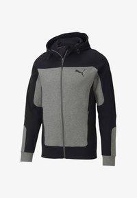 """Puma - PUMA HERREN SWEATSHIRTJACKE """"EVOSTRIPE"""" - Zip-up hoodie - grau (231) - 3"""