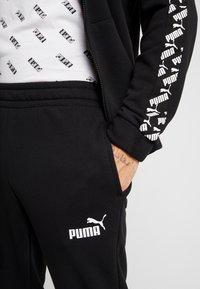 Puma - AMPLIFIED TRACK SUIT - Träningsset - black - 6