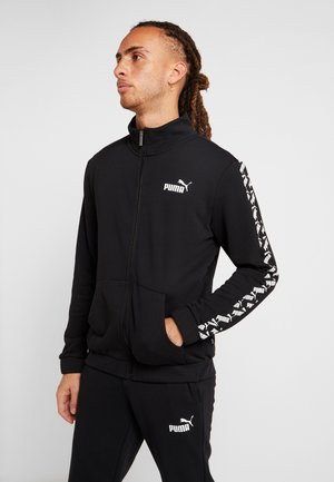 AMPLIFIED TRACK SUIT - Verryttelypuku - black