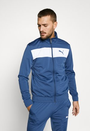 TECHSTRIPE TRICOT SUIT  - Tracksuit - dark denim
