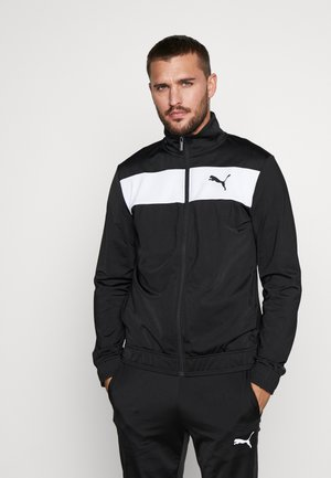 TECHSTRIPE TRICOT SUIT  - Trainingspak - puma black