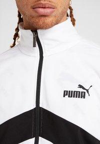 Puma - CLASSIC TRICOT SUIT - Tracksuit - black/white - 8