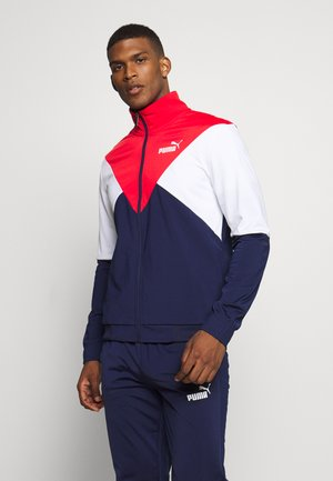 RETRO TRACK SUIT SET - Tracksuit - peacoat