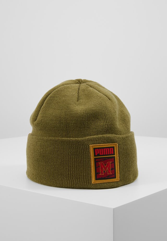 INFLUENCE PACK BEANIE - Lue - capulet olive/team gold