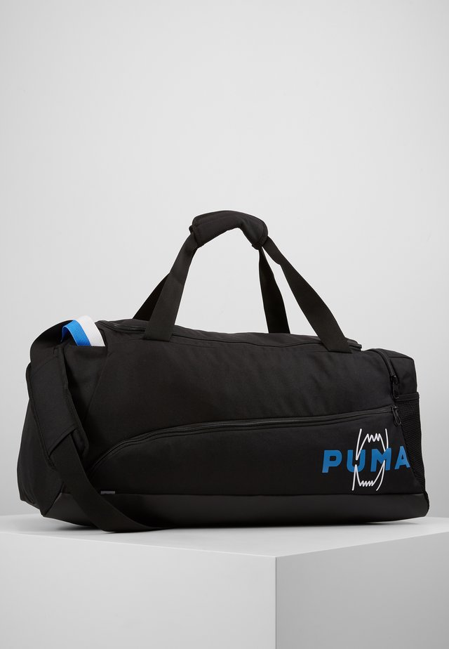 HOOPS BASKETBALL DUFFLE BAG - Torba sportowa - black