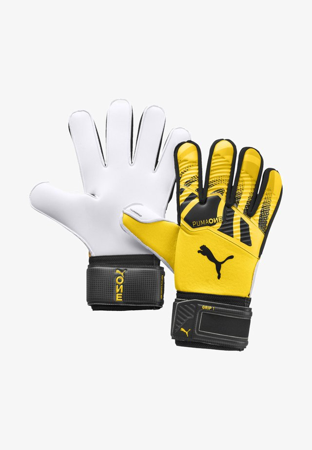 Guanti da portiere - ultra yellow-black-white