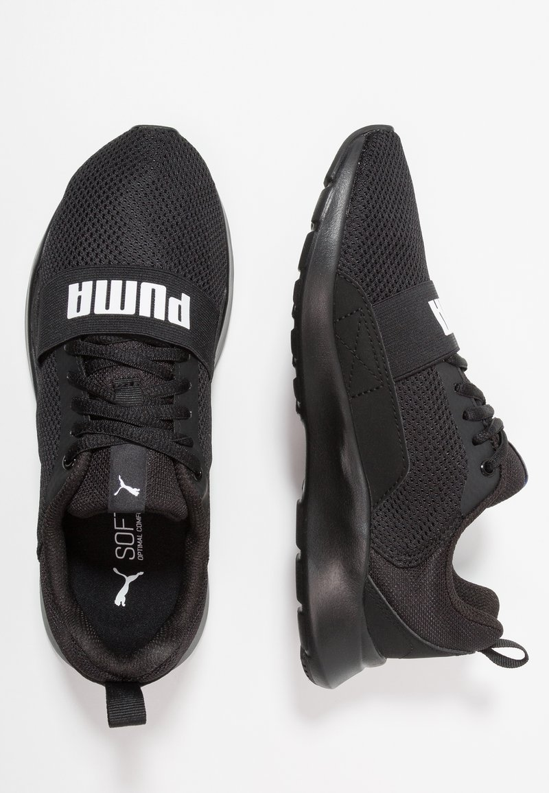 Puma - WIRED - Laufschuh Neutral - black