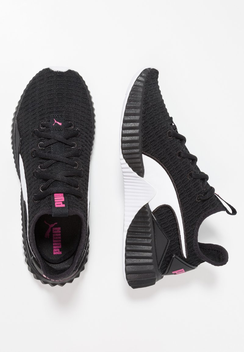 Puma - DEFY  - Scarpe da fitness - black/white