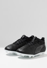 Puma - ONE 19.3 FG/AG  - Korki Lanki - black/white - 3
