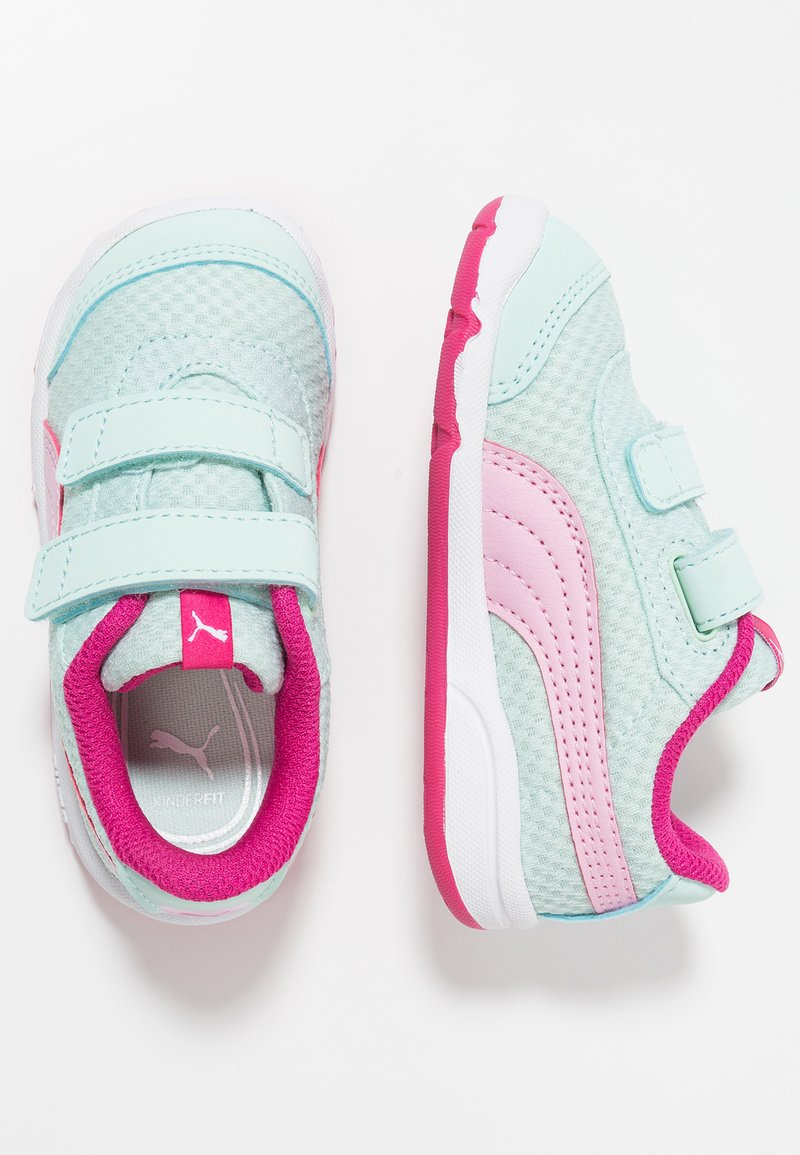 Puma - STEPFLEEX 2 - Obuwie treningowe - fair aqua/pale pink/fuchsia purple