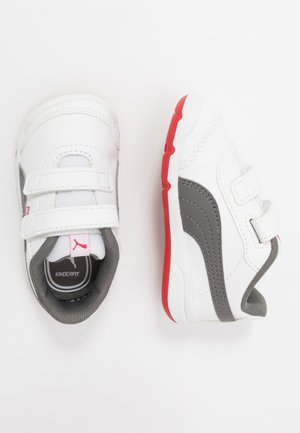 STEPFLEEX 2 - Chaussures d'entraînement et de fitness - white/castlerock/high risk red