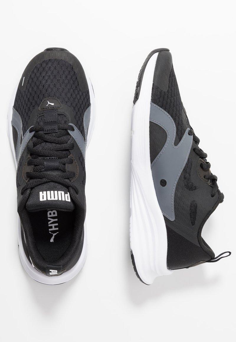 Puma - HYBRID FUEGO - Neutrale løbesko - black/white