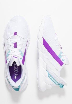 WEAVE XT - Sportschoenen - white/milky blue/royal lilac