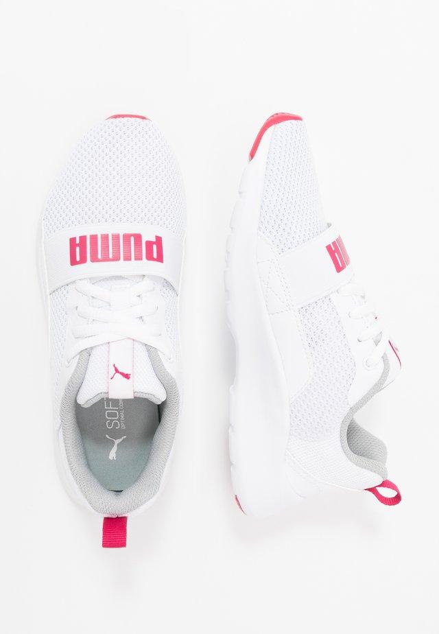 WIRED - Neutrální běžecké boty - white/bright rose