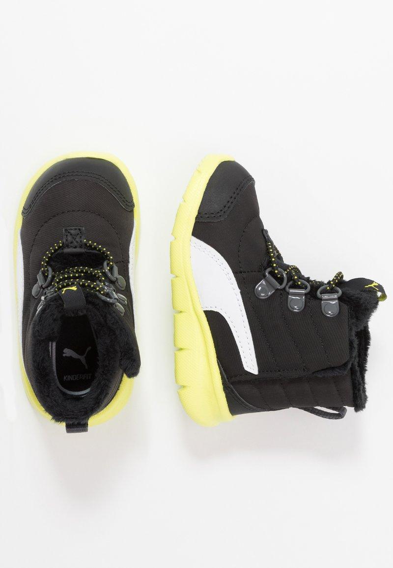 Puma - BAO 3 BOOT - Snowboot/Winterstiefel - black/nrgy yellow