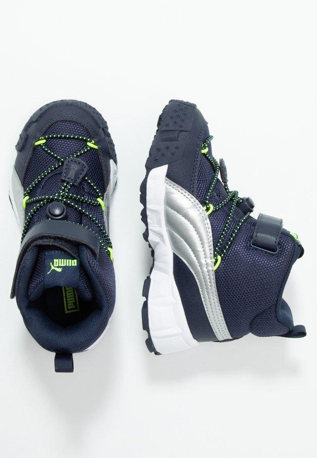 MAKA - Sneaker high - peacoat/yellow alert