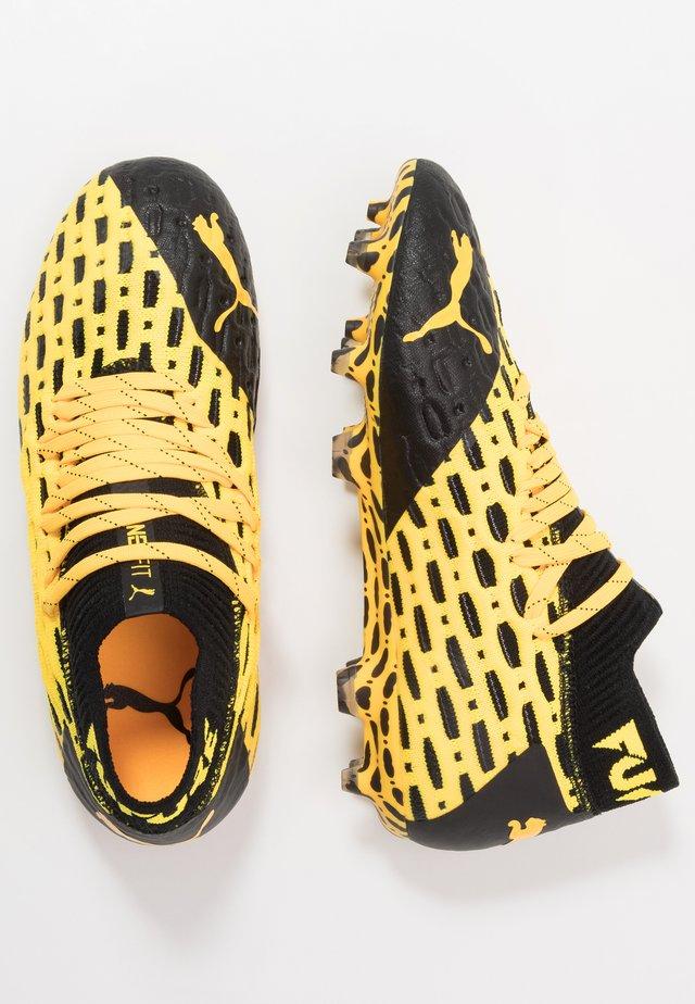 FUTURE 5.1 NETFIT FG/AG - Fodboldstøvler m/ faste knobber - ultra yellow/black