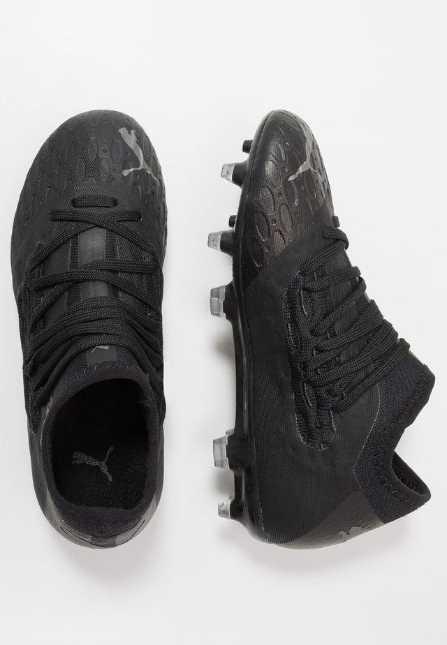 FUTURE 5.3 NETFIT FG/AG - Fodboldstøvler m/ faste knobber - black/asphalt