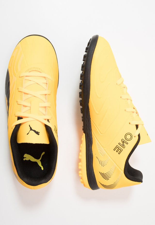 ONE 20.4 TT - Astro turf trainers - ultra yellow/black/orange alert