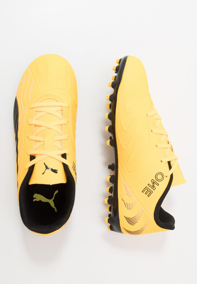 ONE 20.4 MG - Moulded stud football boots - ultra yellow/black/orange alert