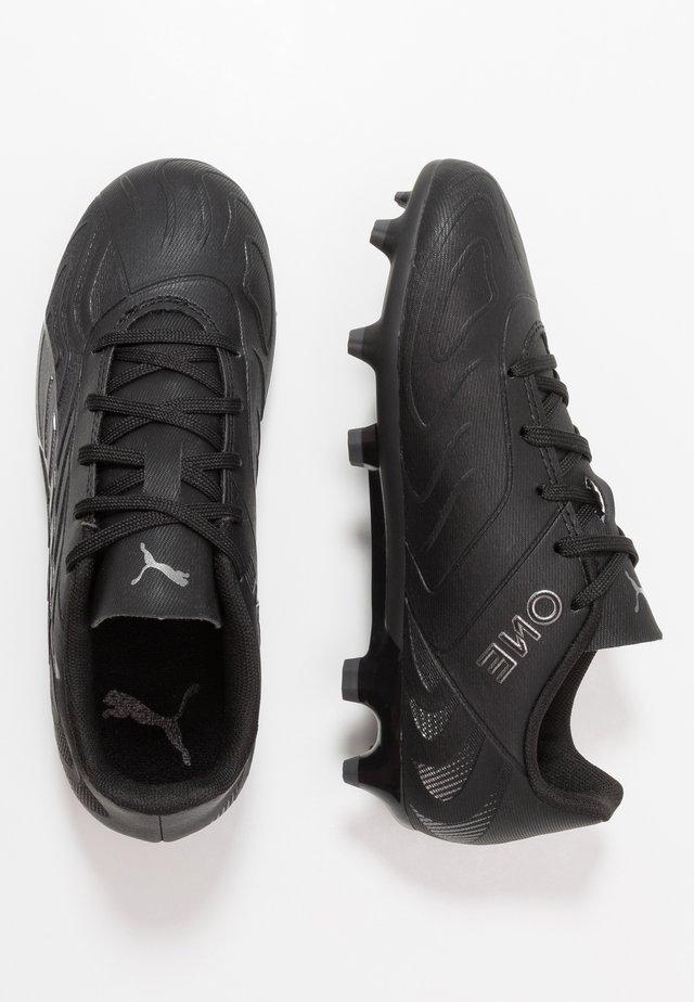 ONE 20.4 FG/AG - Moulded stud football boots - black/asphalt