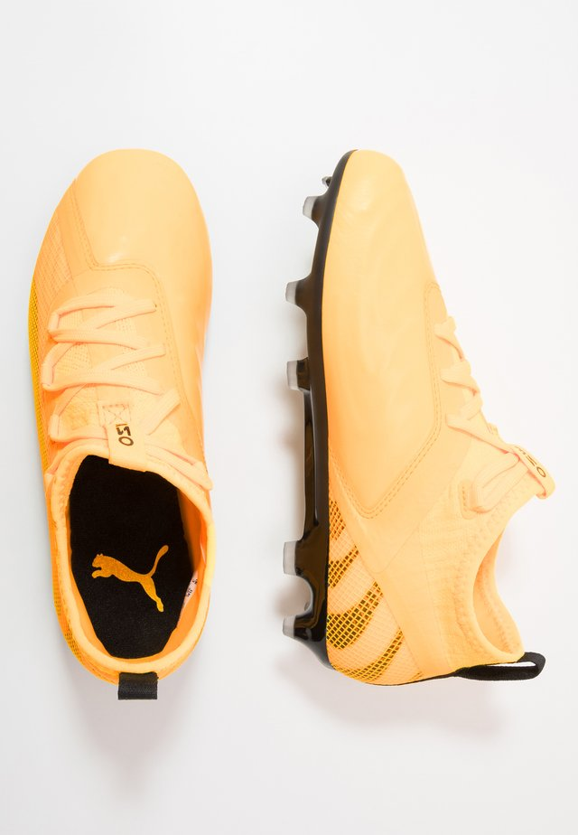 ONE 20.2 FG/AG - Moulded stud football boots - ultra yellow/black/orange alert