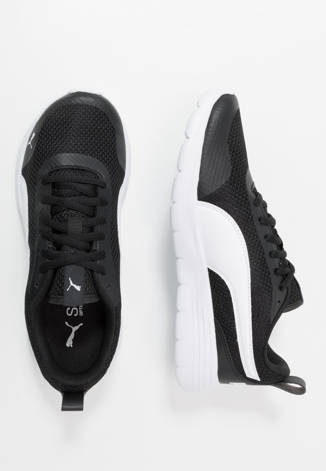 FLEX RENEW - Neutral running shoes - black/white