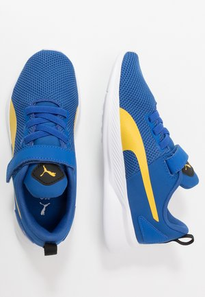 FLYER RUNNER  - Zapatillas de running neutras - lapis blue/super lemon/white