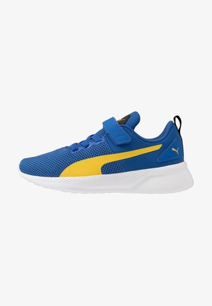 FLYER RUNNER  - Zapatillas de running neutras - lapis blue/super lemon/white