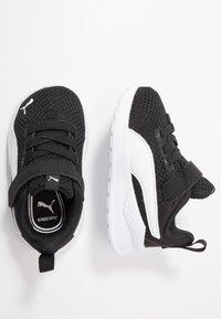 Puma - ANZARUN LITE - Obuwie do biegania treningowe - black/white - 0