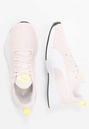 FLYER RUNNER  - Neutral running shoes - rosewater/white/sunny lime/peony/black