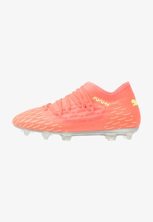 FUTURE 5.3 NETFIT OSG FG/AG - Moulded stud football boots - nrgy peach/fizzy yellow