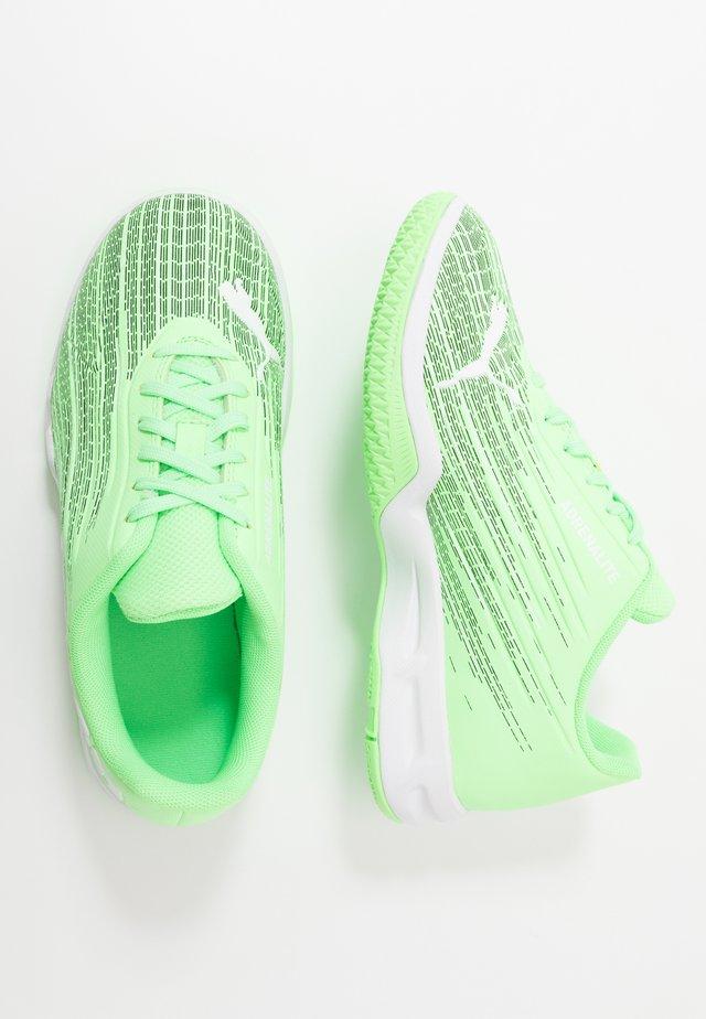 ADRENALITE 4.1 - Håndboldsko - elektro green/white