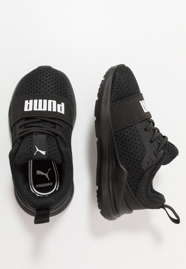 WIRED RUN - Neutrala löparskor - black