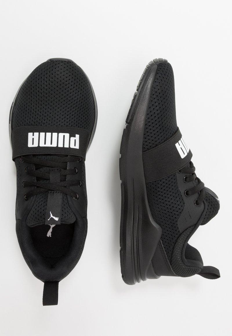 Puma - WIRED RUN - Obuwie do biegania treningowe - black