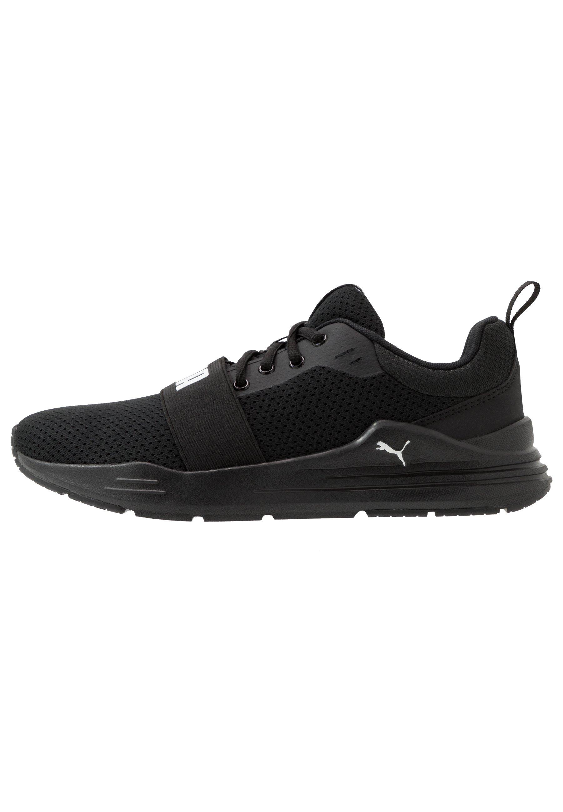 WIRED RUN Chaussures de running neutres black