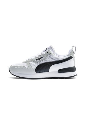 Sneakers laag - white/gray/violet/black