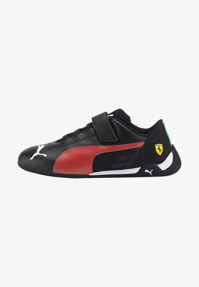Sneakers - black-rosso corsa